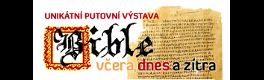 Logo - Výstava BIBLE VČERA, DNES a ZÍTRA